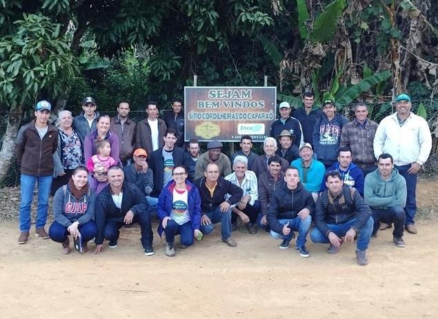Cafeicultores de Guaçuí vão a Iúna aprender sobre cafés especiais com segundo melhor produtor do País