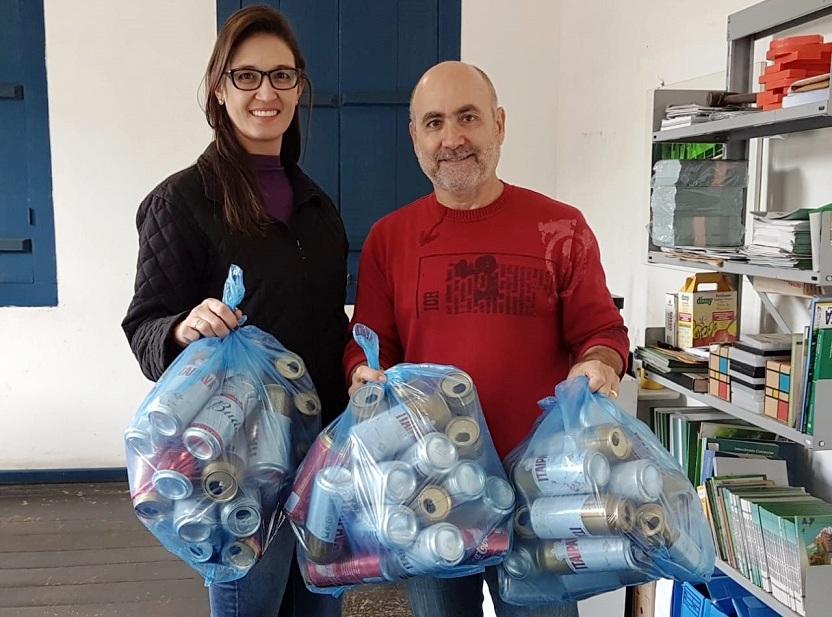 Secretaria de Meio Ambiente de Guaçuí oferece mudas nativas em troca de latas de alumínio
