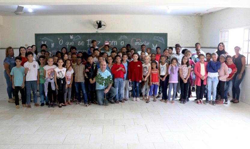 Ações alusivas ao Dia da Árvore e Dia Mundial da Limpeza são iniciadas em Guaçuí