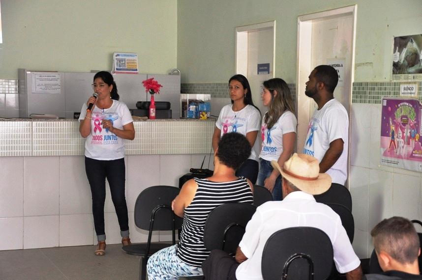 Outubro Rosa: Palestras marcam início de campanha em Guaçuí